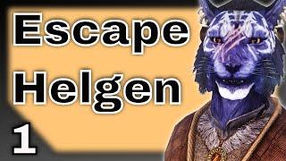 Escape from Helgen - A Skyrim Adventure Movie with Inigo