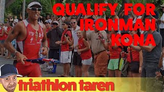 How to Qualify for Kona Ironman World Championship