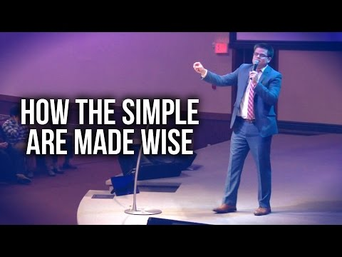 """""""How the Simple are Made Wise"""" - Mike Hennessey"""
