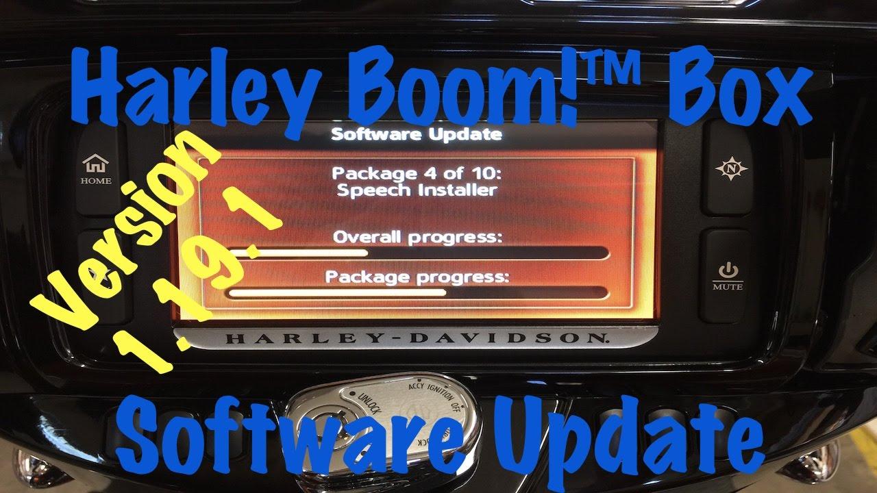 vlog 15 harley davidson boom box software update version. Black Bedroom Furniture Sets. Home Design Ideas