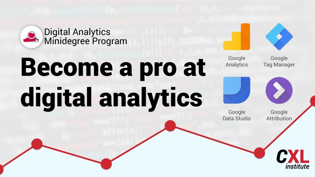 Digital Analytics Training Cxl Institute