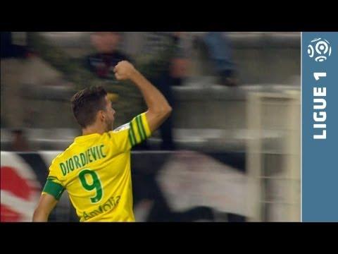 Goal Filip DJORDJEVIC (2') - FC Nantes - Evian TG FC (3-0) - 2013/2014
