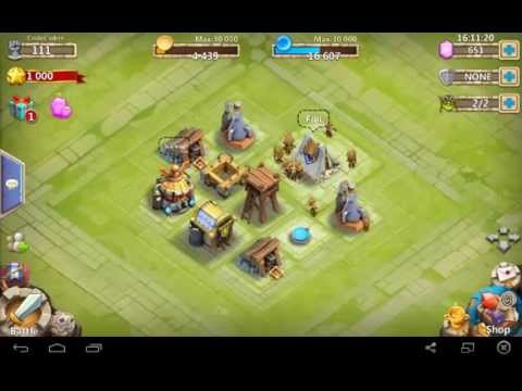 Castle Clash: Town Hall Lvl 1