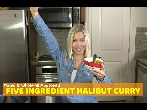 Five Ingredient Halibut Curry Recipe