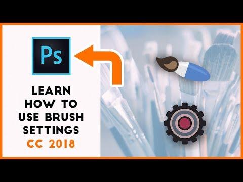 Adobe Photoshop Brush Settings (CC 2018)