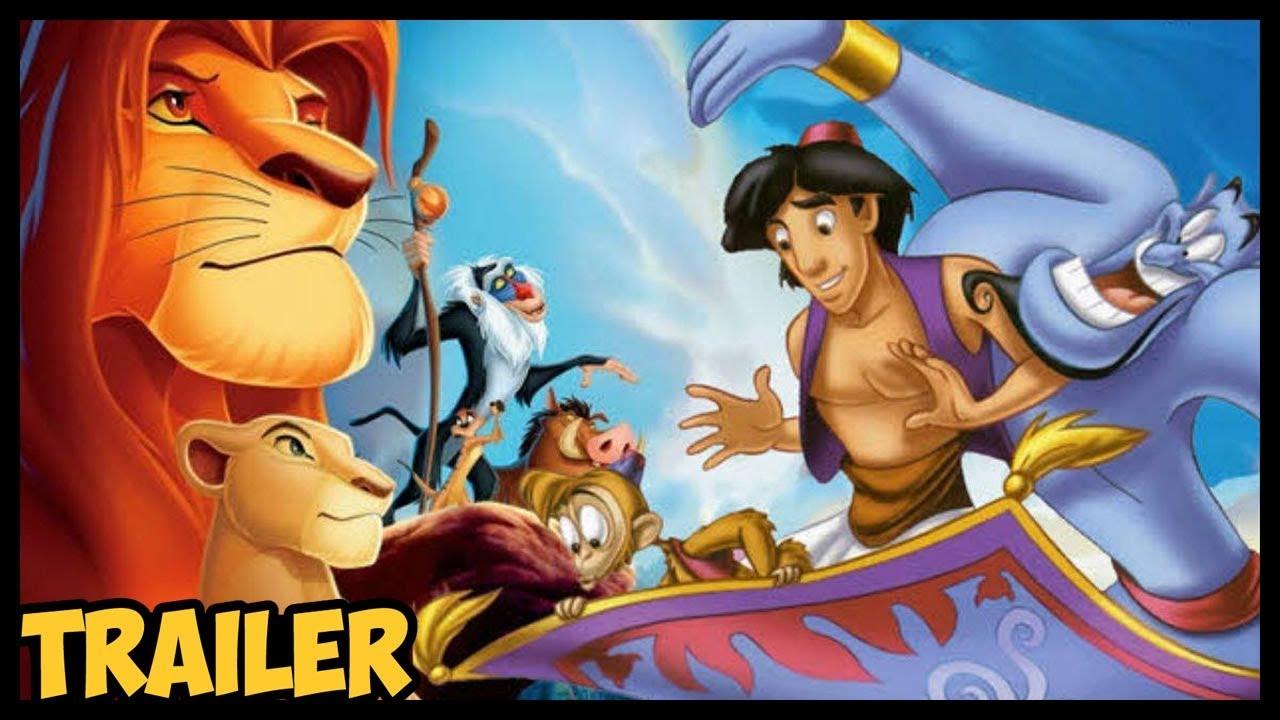 Aladdin e O Rei Leão de Volta! Nostalgia Total
