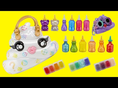 SWTAD Vids | Baby Alive Sara Opens Pooey Puitton Purse | Toys and Dolls Fun Pretend Play for Kids