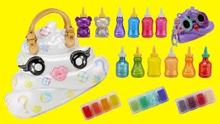 Baby Alive Sara Opens Poopsie Slime Purse Pooey Puitton | Toys and Dolls Fun Play for Kids | SWTAD