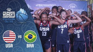 LIVE - USA v Brazil - FIBA U16 Women's Americas Championship 2019