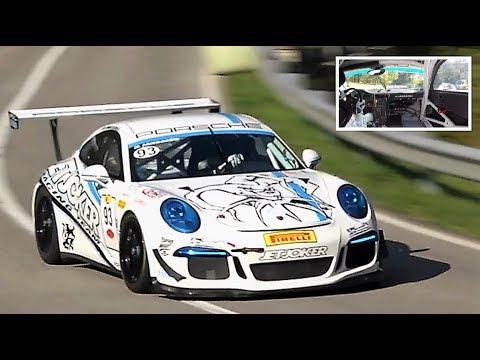 9.000Rpm Porsche 911 GT3 Cup    Full Onboard - HillClimb Masters 2018