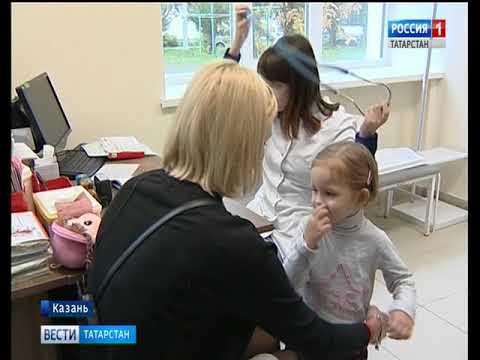 Поликлиники Казани замерли в огромных очередях