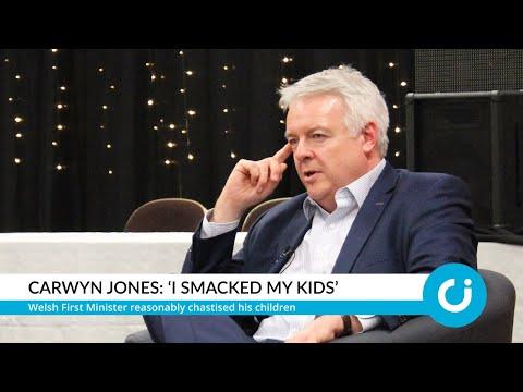 Carwyn Jones: 'I smacked my kids'