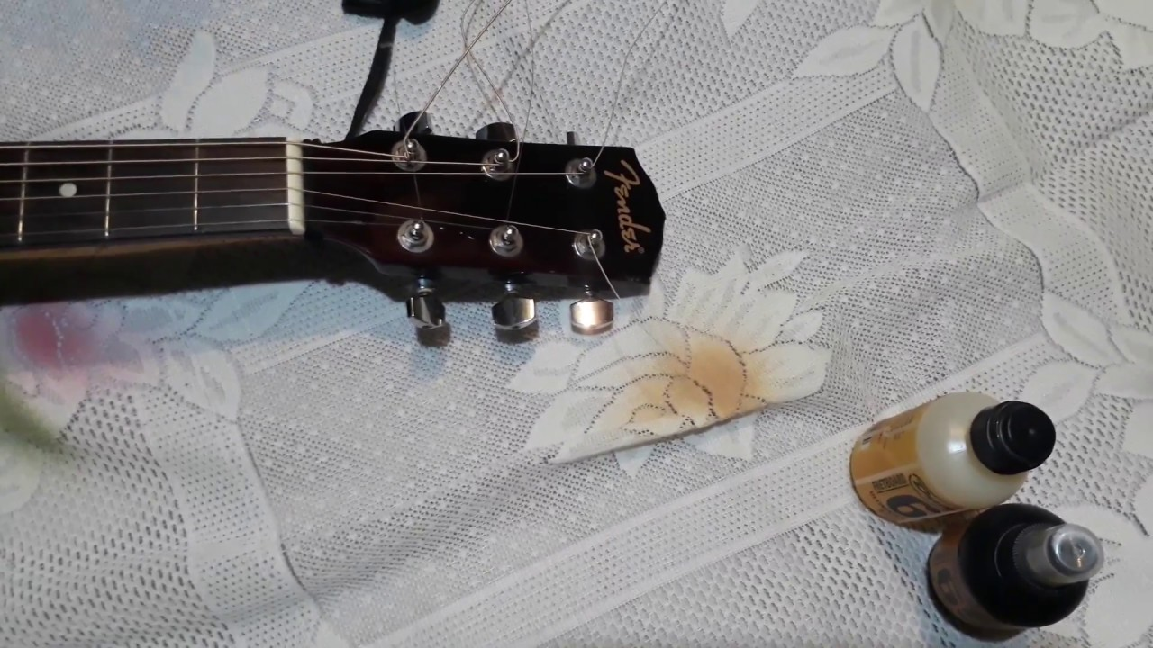 cutting the extra guitar strings without cutter - YouTube