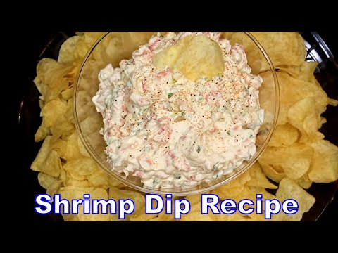 Holiday Shrimp Dip (My Signature Dip) - How To Make