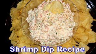 Holiday Shrimp Dip (My Signature Dip) - How To Make