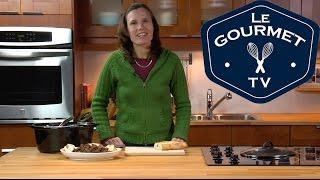 Black Bean Stew with Turkey - LeGourmetTV Recipe