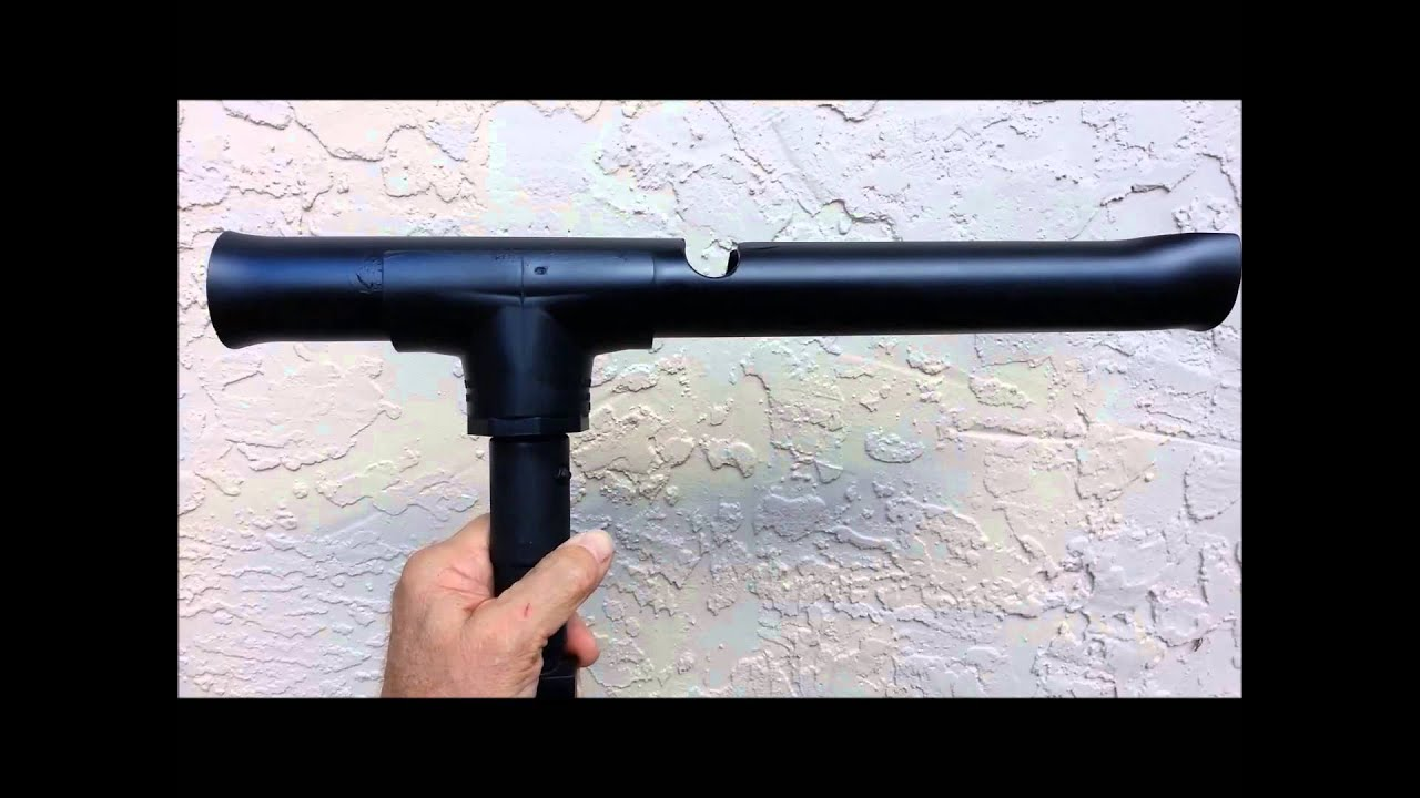 Home made pvc fly rod holder youtube for Fly fishing rod holder