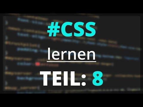 CSS Lernen - Formular Bearbeiten | Teil 8 [deutsch]