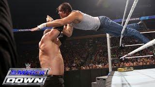 Dean Ambrose Vs. Kane And Sheamus - 2-on-1 Handicap Match: SmackDown, June 18, 2015