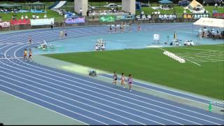 2011中学通信陸上( 兵庫)1日目(2011/07/02) 共通女子1500m予選3組 ・◎は...