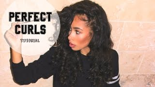 How To: Curly Hair Tutorial