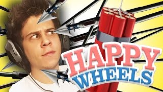 1000 ARPONES VS HOMBRE | Happy Wheels | Momentos Divertidos