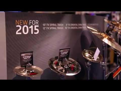 Zildjian Oriental China Trash Cymbals - NAMM 2015