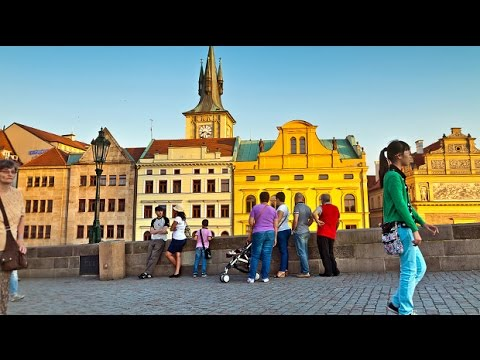 Prague, Czech Republic: Charles Bridge and a Czech Language