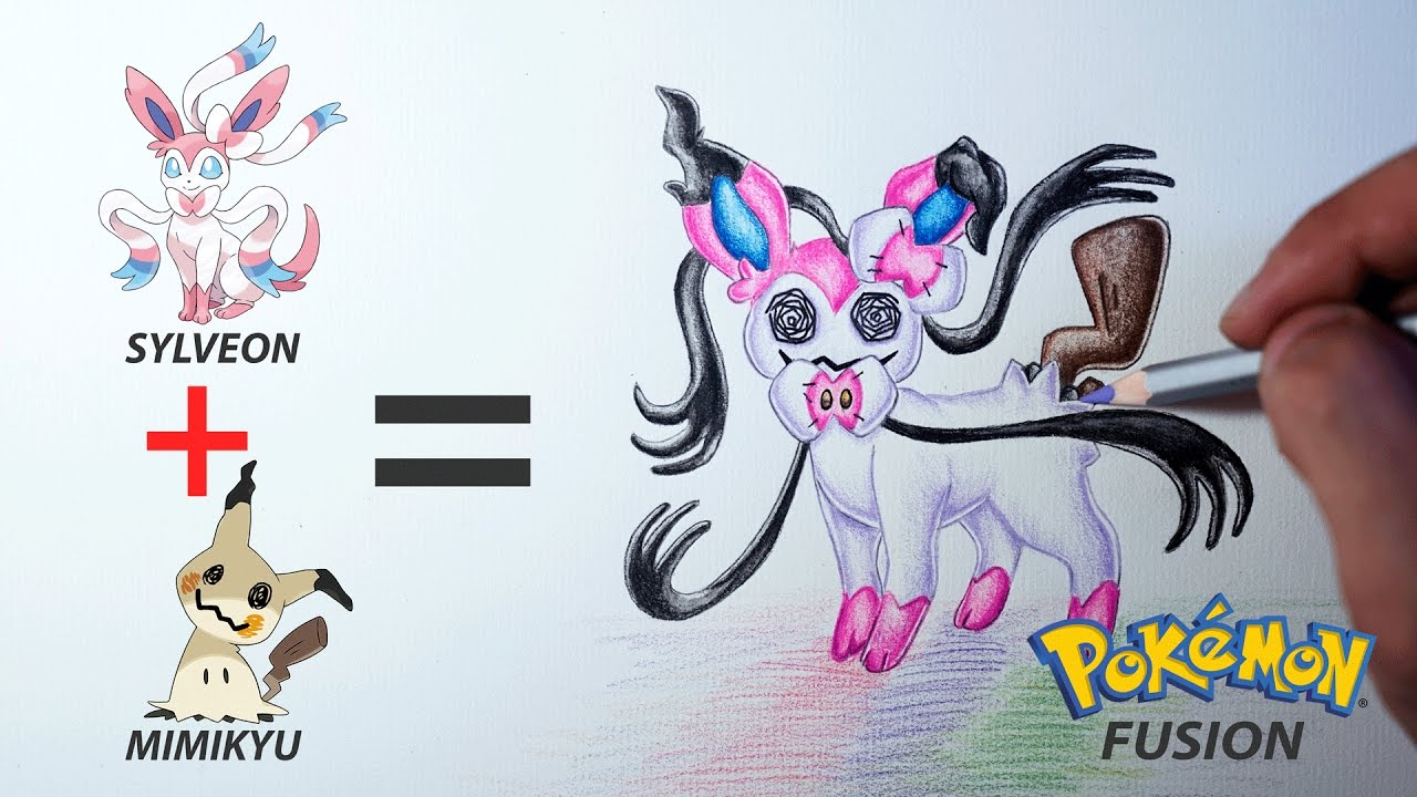 Pokemon Silveon: how to draw it