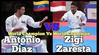 Zigi (INDONESIA) VS Antonio Diaz (Venezuela) - WKF Premier League - Kata Individual Male
