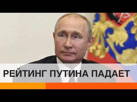 Рейтинг Путина пробил