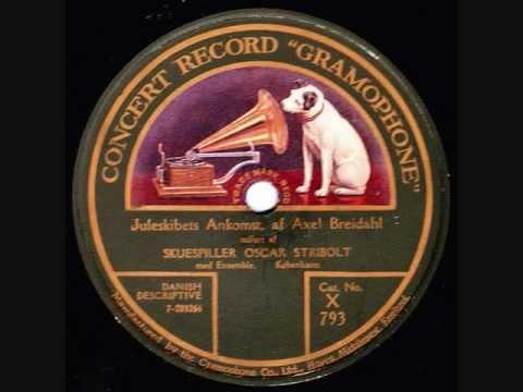 Juleskibets ankomst - Oscar Stribolt m. fl. - 1920