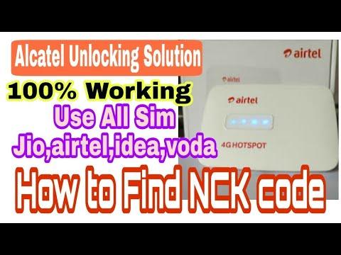 How To Unlock Alcatel Airtel MW40CJ