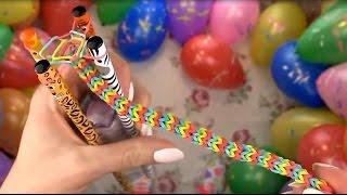 Плетение из резинок на карандашах. Видео урок