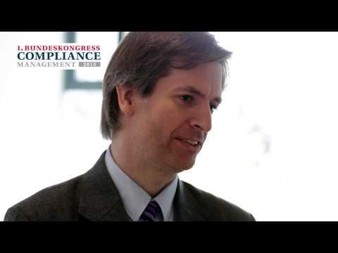 Bundeskongress Compliance Management 2013 - Interview mit Carsten Tams, Bertelsmann Inc.