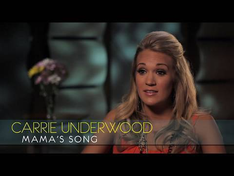 "Carrie Underwood - Interview - ""Mama's Song"""