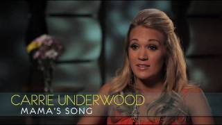 """Carrie Underwood - Interview - """"Mama's Song"""""""