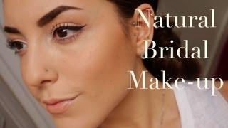 My Natural Bride Make-up Tutorial ♡ | SoTotallyVlog
