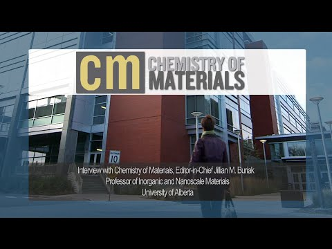 Interview with Chemistry of Materials Editor-in-Chief, Jillian M. Buriak