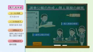 模擬選挙紹介動画(字幕なし)