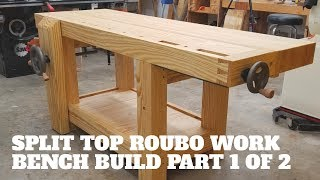 Building A Roubo Work Bench Out Of Southern Yellow Pine (Part 1)