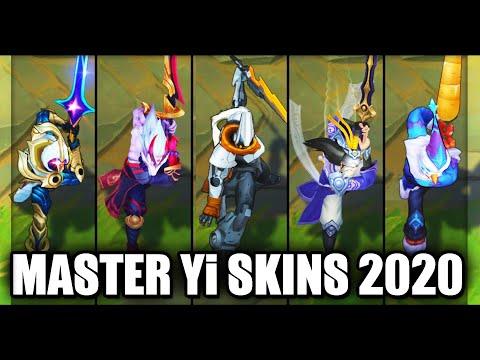 All Master Yi Skins Spotlight 2020 (League of Legends)