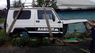 Снятие кузова Автокам 3101