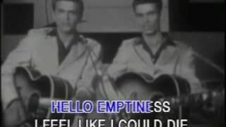 everly brothers bye bye love ....karaoke video