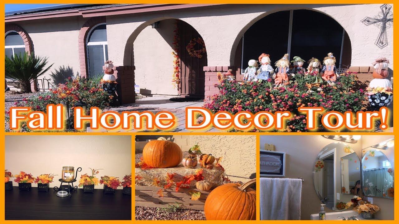 My Fall Home Decor Tour 2017 Youtube