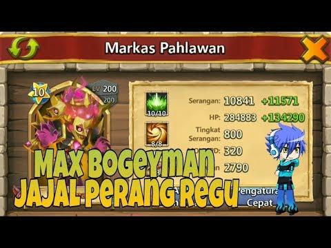 New Hero BOGEYMAN DI PERANG REGU | KONFLIK KASTIL | CASTLE CLASH ID