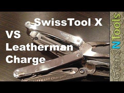 Victorinox Swisstool X Vs Leatherman Charge Tti Which Tool