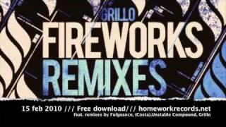 Homework Rec Promo / Grillo - FIREWORKS REMIXES