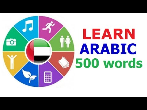Learn Arabic (Vocabulary)
