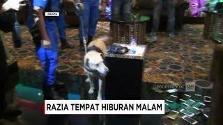BNN Terjunkan Anjing Pelacak Razia Tempat Hiburan Malam